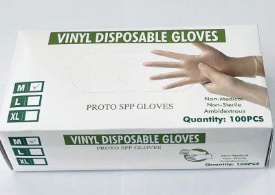 Vinyl Gloves Medium Size